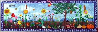 outdoor garden wall murals ideas garden wall murals ideas