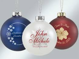ornaments wedding favors custom personalized glass