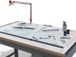 Drafting Tables With Parallel Bar Glass Drafting Table With Parallel Bar Idea Small Regarding Decor