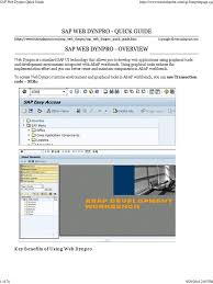 layout manager tutorialspoint sap web dynpro quick guide model view controller world wide web