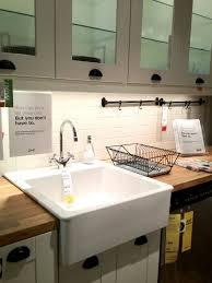 ikea farmhouse sink single bowl top apron front sink ikea home design ideas installing farm