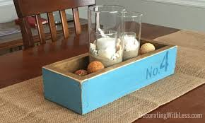 how to make a diy distressed wood crate centerpiece for your home