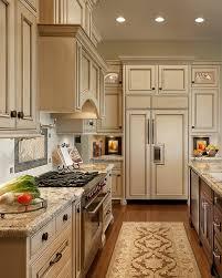 cream cabinet kitchen antique ivory kitchen cabinets with black brown granite counter