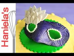 How To Make Mardi Gras Decorations How To Make Mardi Gras Mask From Gumpaste Youtube