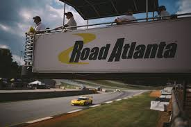 Road Atlanta Track Map by Petit Le Mans Drifts Into Road Atlanta
