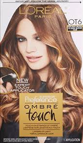 hair color light to dark amazon com l oreal paris superior preference ombre touch hair