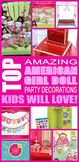 doll birthday decorations