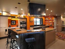colorful playful industrial kitchen nar bustamante hgtv
