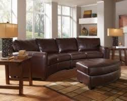 Curved Leather Couch | curved leather sectional sofa foter