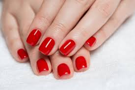 nail polish with red volle farbkraft ohne endeuv fingerngel gel