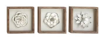 cole grey 3 metal and wood wall décor set reviews wayfair