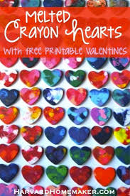 crayon valentines best 25 melted crayon heart ideas on heart melting