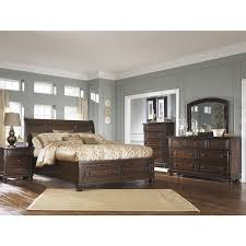 King Sleigh Bedroom Sets by Bedroom Sets Porter B697 7 Pc King Sleigh Bedroom Set At Trends