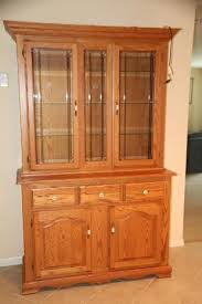 lighted oak china cabinet current price 390