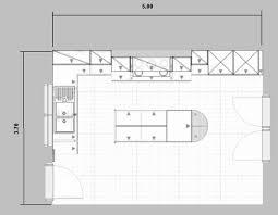 plan de cuisine moderne avec ilot central plan cuisine avec ilot central idee de cuisine avec ilot central