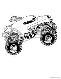 monster jam coloring pages lezardufeu com