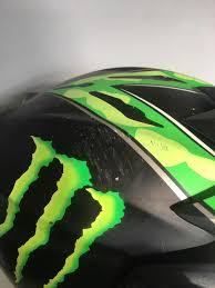 monster motocross helmet monster motocross helmet in cherry willingham lincolnshire