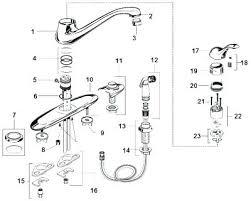 parts of a kitchen faucet kitchen sink faucet parts faucets bathroom fixtures sinks handle