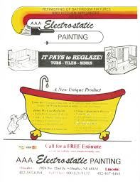 Bathtub Refinishing Omaha Our Flyers Des Moines Electrostatic Painting And Bathtub Refinishing
