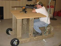 Portable Shooting Bench Building Plans It Actually Took Me 2 Hours And 6 Beers For Me To Build This I