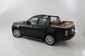 rose gold range rover range rover autobiography convertible pursuitist in
