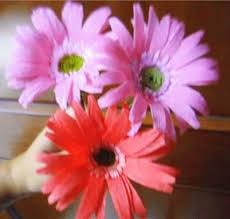 Paper Flowers Video - how to make paper flowers gerbera daisy flower 28 youtube