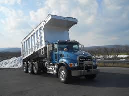 mack dump truck mack tri axle aluminum dump truck for sale 11610