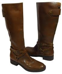 Comfortable Brown Boots Enzo Angiolini Leather Riding Equestrian Comfortable Brown Boots