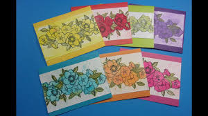 watercolor notecards watercolor note cards peg st decorated address area on
