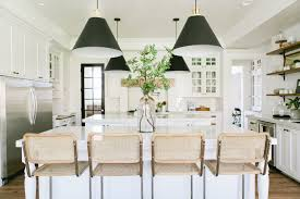 Backsplash Neutrals Kitchen Decor Amazing Kitchen Backsplashes Rustic Neutral Kitchen With Pendant Lights