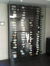 glass enclosed wine storage rack google search wine room