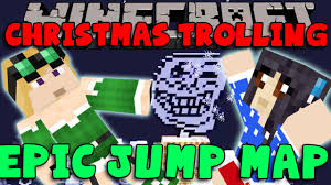 epic jump christmas trolling map 1 12 2 1 11 2 for minecraft