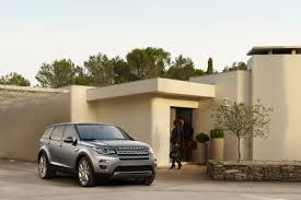 brown range rover new age of discovery