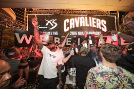 how the cavs took over xs nightclub in las vegas in the middle of