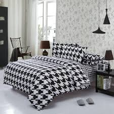 White Cotton Bed Linen - aliexpress com buy classical black white cotton bedding set home