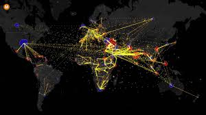 Mapping The World With Art by Mapping The World U0027s Immigration Flows Country By Country Youtube