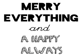 merry everything and happy always michel s