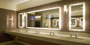 Bathroom Mirror With Tv by Modern Lighted Bathroom Mirror Design