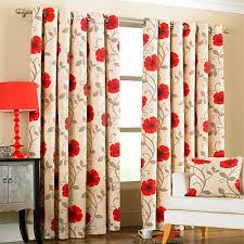 Ebay Curtains Fancy Flower Curtains Decorating With Poppy Flower Panama