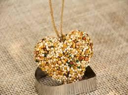 baked bird seed ornaments birdcage design ideas
