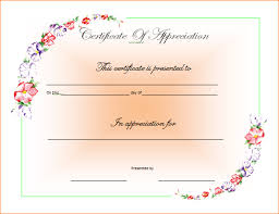 7 ms word certificate template outline templates