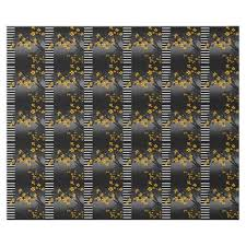 asian wrapping paper asian bamboo yellow black white blossom wrapping paper