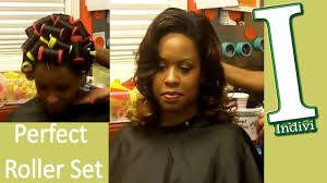 Roller Set Hairstyles How To Roller Set Hair Tutorial Wash And Set Hair Big