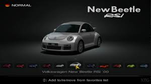 volkswagen vehicles list gran turismo 4 volkswagen car list ps2 gameplay hd youtube