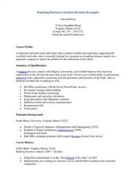 Resume Template Business Analyst Example Of Business Analyst Resumes Http Topresume Info 2014
