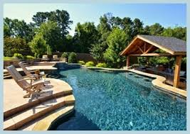Backyard Paradise Conway Ar Parrot Bay Pools And Spas Pool Builder Little Rock Ar