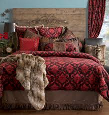 Damask Comforter Sets Red Damask Bedding Set Carstens Inc