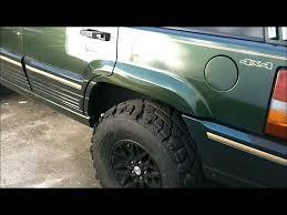green jeep grand cherokee 95 jeep grand cherokee on 33s aka green youtube