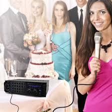 rca home theater 1000 watts amazon com pyle pmxakb1000 1000 watt dj karaoke mixer and