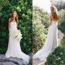 outdoor wedding dresses discount simple outdoor chiffon wedding dress 2017 simple
